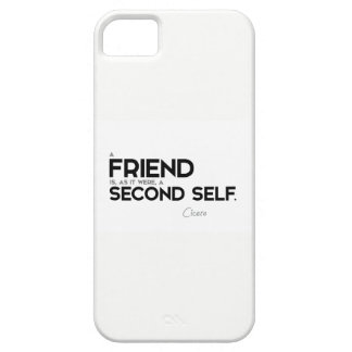QUOTES Cicero A Friend Second Self Barely There IPhone 5 Case