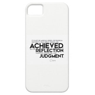 QUOTES: Cicero: Force of character Barely There iPhone 5 Case
