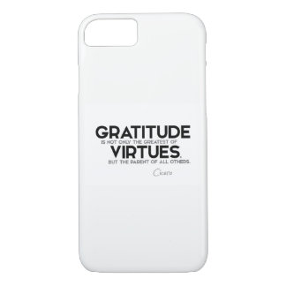 QUOTES: Cicero: Gratitude iPhone 8/7 Case