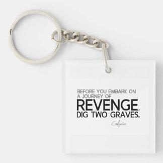 QUOTES: Confucius: Journey of revenge Key Ring