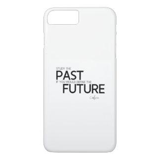 QUOTES: Confucius: Study the past iPhone 8 Plus/7 Plus Case
