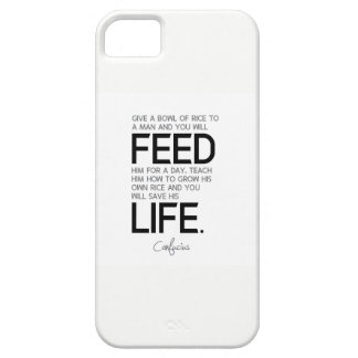 QUOTES: Confucius: Teach him, save his life Barely There iPhone 5 Case