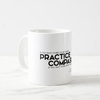 QUOTES: Dalai Lama - Practice Compassion Coffee Mug