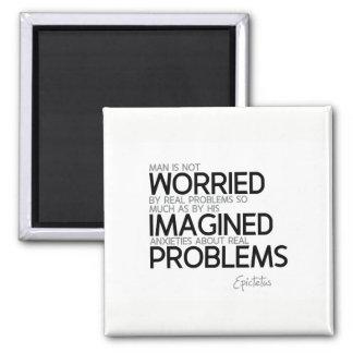 QUOTES: Epictetus: Imagined anxieties Magnet