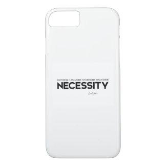QUOTES: Euripides: Dire necessity iPhone 8/7 Case