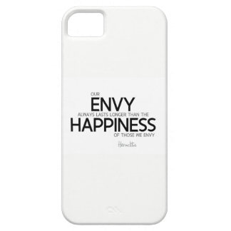 QUOTES: Heraclitus: Envy always lasts longer iPhone 5 Cover