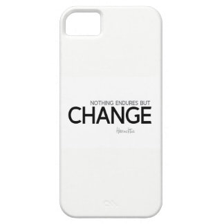 QUOTES: Heraclitus: Nothing endures but change Barely There iPhone 5 Case