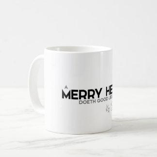 QUOTES: King Solomon: A merry heart Coffee Mug