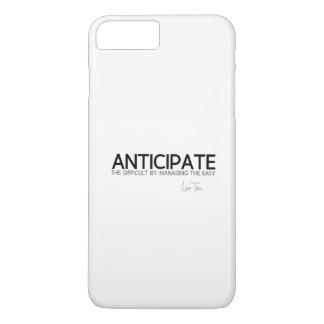 QUOTES: Lao Tzu: Anticipate difficult iPhone 8 Plus/7 Plus Case