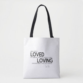 QUOTES: Lao Tzu: Deeply loved Tote Bag