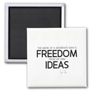 QUOTES: Lao Tzu: Freedom from ideas Magnet
