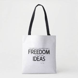 QUOTES: Lao Tzu: Freedom from ideas Tote Bag