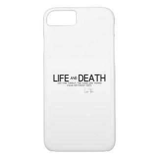 QUOTES: Lao Tzu: Life and death iPhone 8/7 Case