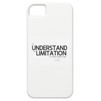 QUOTES: Lao Tzu: Limitation of things iPhone 5 Covers