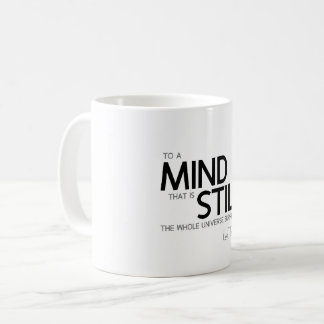 QUOTES: Lao Tzu: Mind still Coffee Mug
