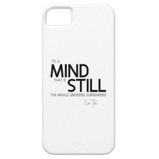 QUOTES: Lao Tzu: Mind still iPhone 5 Case