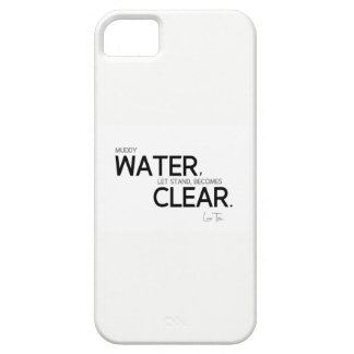 QUOTES: Lao Tzu: Muddy water Barely There iPhone 5 Case