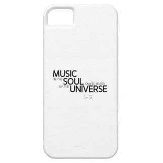 QUOTES: Lao Tzu: Music is soul Case For The iPhone 5