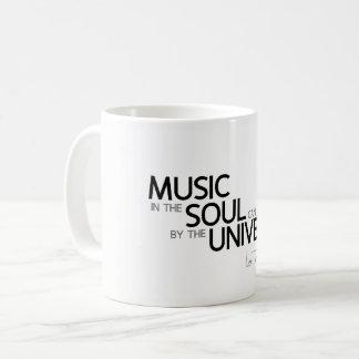 QUOTES: Lao Tzu: Music is soul Coffee Mug