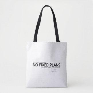 QUOTES: Lao Tzu: No fixed plans Tote Bag