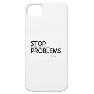 QUOTES: Lao Tzu: Stop thinking iPhone 5 Case