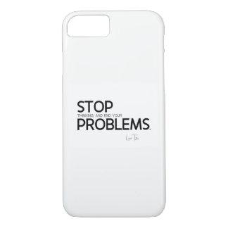 QUOTES: Lao Tzu: Stop thinking iPhone 8/7 Case