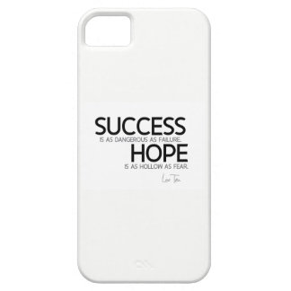 QUOTES: Lao Tzu: Success, hope Barely There iPhone 5 Case