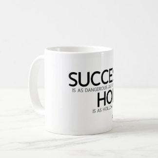 QUOTES: Lao Tzu: Success, hope Coffee Mug