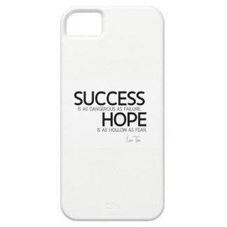 QUOTES: Lao Tzu: Success, hope iPhone 5 Cover