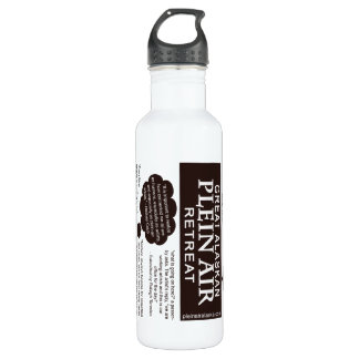 Quotes on Plein Air Painting Artist 710 Ml Water Bottle