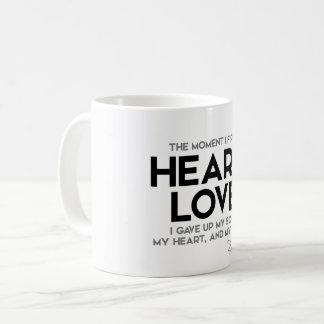 QUOTES: Rumi: Heard love Coffee Mug