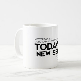 QUOTES: Rumi: New seeds are growing Coffee Mug