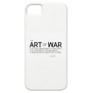 QUOTES: Sun Tzu: Art of war, life and death iPhone 5 Cover