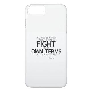 QUOTES: Sun Tzu: Great soldier iPhone 8 Plus/7 Plus Case
