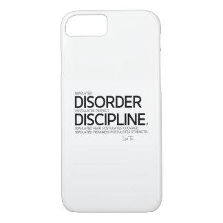 QUOTES: Sun Tzu: Perfect discipline iPhone 8/7 Case