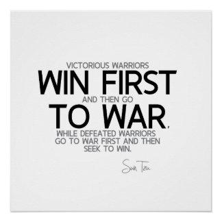 QUOTES: Sun Tzu - Win first