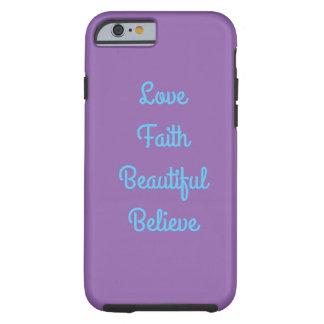 quotes tough iPhone 6 case