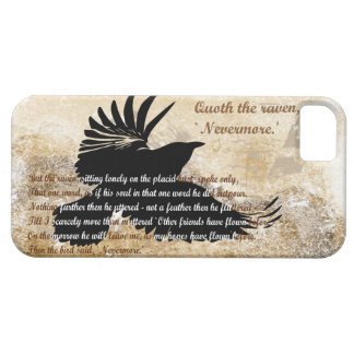 Quoth the Raven Nevermore Edgar Allan Poe iphone5 iPhone 5 Cases