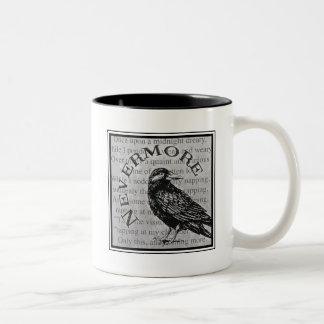 Quoth the Raven Two-Tone Coffee Mug