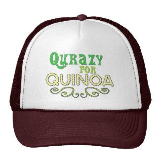 Qurazy for Quinoa © - Funny Quinoa Slogan Cap