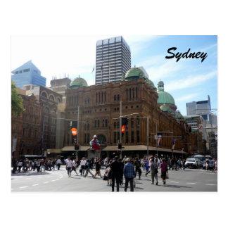 qvb sydney post card
