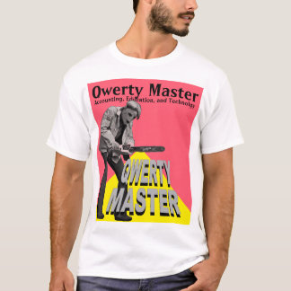 Qwerty Master--Accounting, Education, Technology T-Shirt