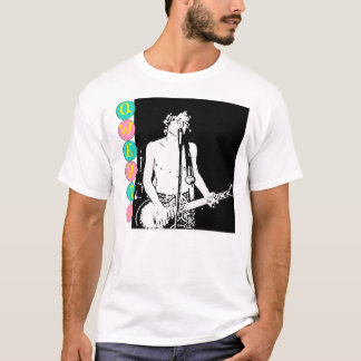 Qwerty Master Retro Band Picture T-Shirt