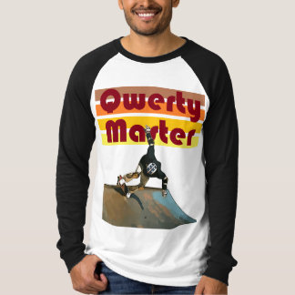 Qwerty Master Retro Skateboarding T-Shirt