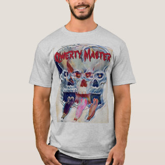 Qwerty Master Triple Skull T-Shirt