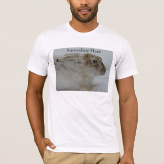 R0011 Snowshoe Hare T-Shirt