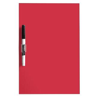 R06 Renewed Brick Red Color Dry Erase Board