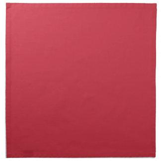 R06 Renewed Brick Red Color Napkin