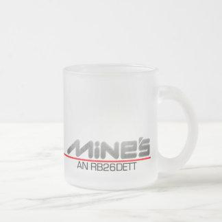 R33 Nissan Skyline GT-R parody Frosted Glass Coffee Mug
