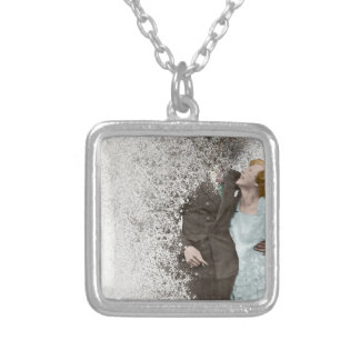 R36 SILVER PLATED NECKLACE